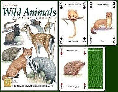 jokers Backyard Birds set of 52 playing cards hpc