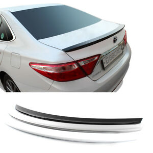 2015 Camry Colors >> Details About Gubin Rear Wing Abs Spoiler 4 Colors Painted For Toyota Camry 2015 2016 2017