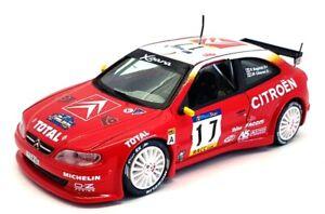 Vitesse échelle 1/43 voiture modèle V0405-Citroen Xsara Kit Car #17 - Rouge