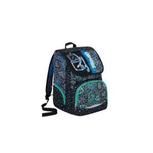 Mochila Escolar Seven Más Shift Color Azul Negro