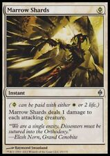 MTG 4x MARROW SHARDS - New Phyrexia *1 Damge to each attacking*
