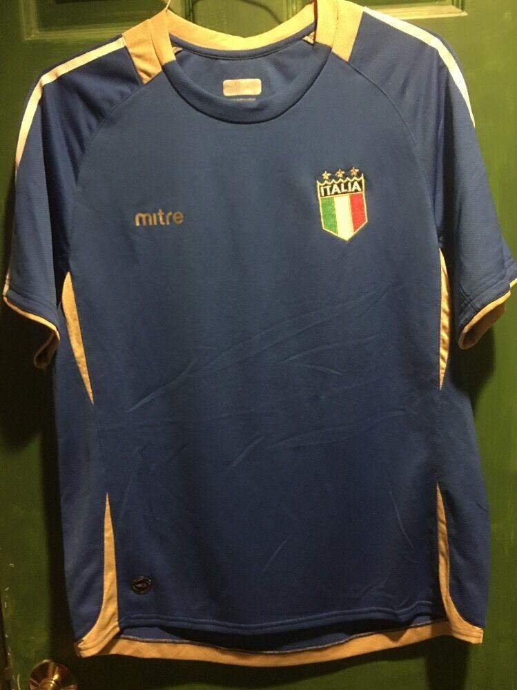 Mitre Italian National Team Soccer Jersey Größe M