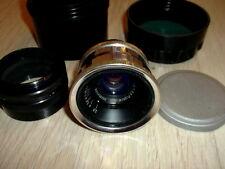 1960 SILVER jupiter-12 2,8/35mm lens M39 RF ZORKI LEICA FED RED P