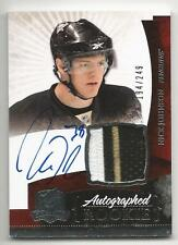 10-11 Nick Johnson The Cup Auto Rookie Card RC #135 Sweet Jersey Patch 194/249