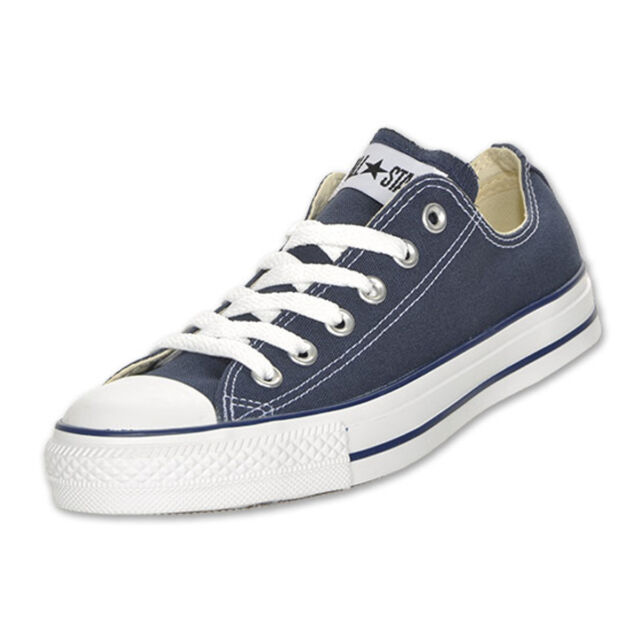 5fe6cf260004 Mens Converse Shoes Navy All Star Chuck Taylor Low Top Ox M9697 8 10 ...