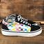 thumbnail 1 - Vans Girls Multicolor Checkerboard Old Skool Skate Shoes Size 2