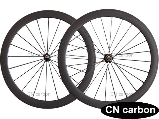 50mm Tubular carbon bicycle wheels 23mm,25mm rim width Novatec+aero 494