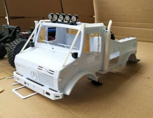 Unimog 1//10 Scale  RALLY TRUCK  Plastic Body Shell  UNPAINTED For TRX-4 ONLY NIB