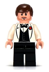 7682 Lego Indiana Jones Minifigure Indiana Jones Tuxedo Temple of Doom