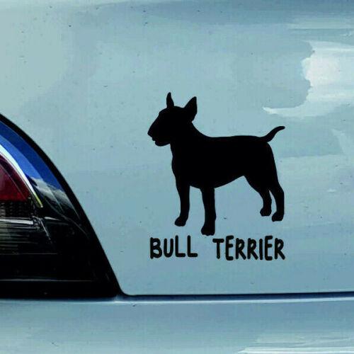 Au 637-Bull Terrier Chien Chiens Autocollant des Autocollants Sticker Autocollant