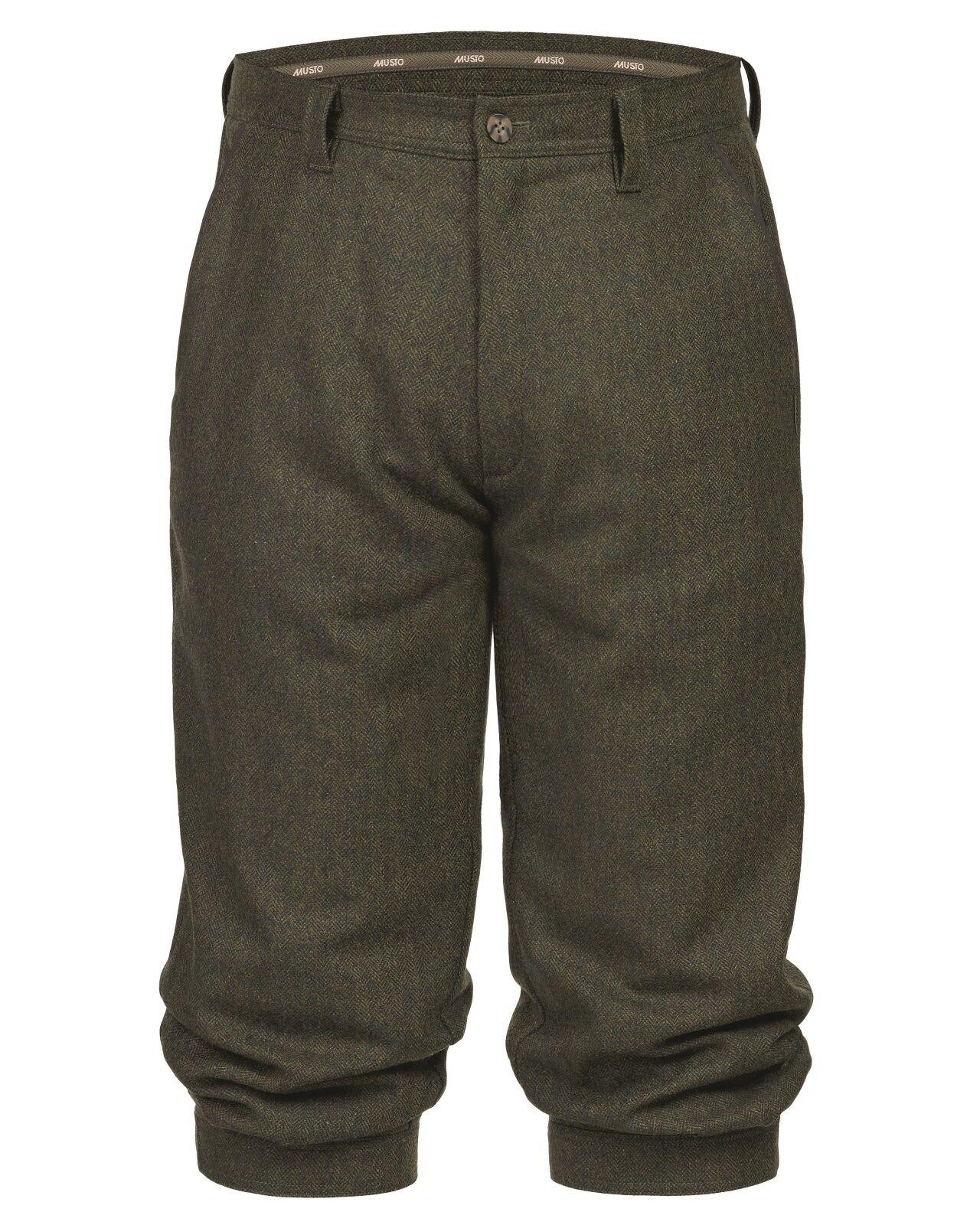 Mens Musto Stretch Technical Tweed Breeks (Heath) - all sizes - New