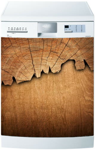 Aufkleber Geschirrspülmaschine Dekor Küche Haushaltsgeräte Holz Ref 592 60x60cm
