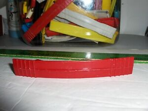 Maroon Plastic Handle Fits Roy Rogers Lunchbox & Many Others,Size In Listing