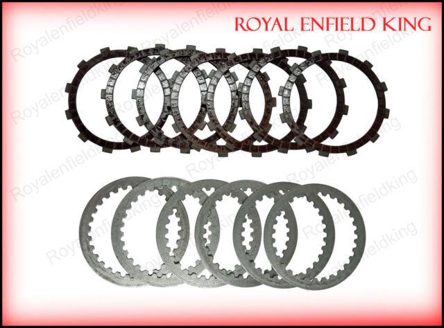 UCE Part # 888102 New Royal Enfield 500CC Clutch Friction /& Plain Plate Kit