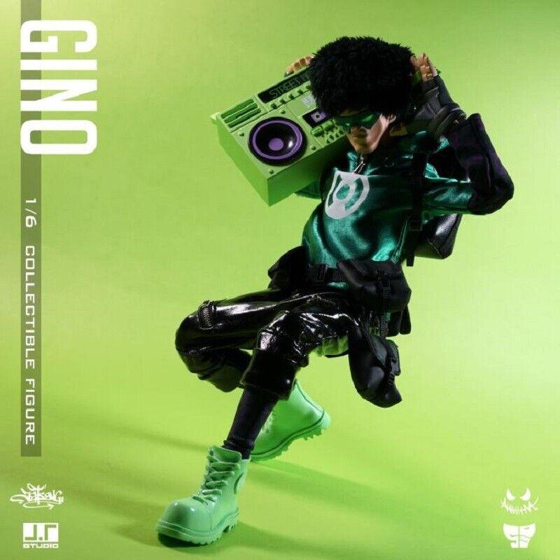 J.T Studio 1 6th verde Lantern Gino Edición Limitada Figura De Colección En Stock