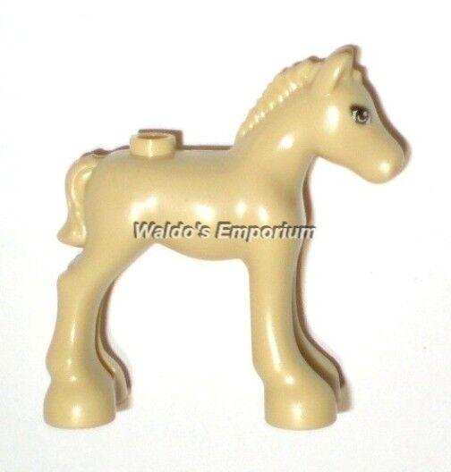 Lego Friends Minifigure Animal Newborn Tan Foal 41039 Horse Ebay