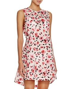 4f18e28377 NEW kate spade new york Bay of Roses Cream Cotton Dress Swim Cover ...