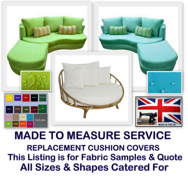 Made To Measure Waterproof Cushions 0r Covers For Domestic Garden Furniture Online Ebay