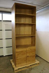 Büroschrank aus holz  Schrank Aktenschrank Eiche Masiv Holz Büroschrank Regal Bücherregal ...