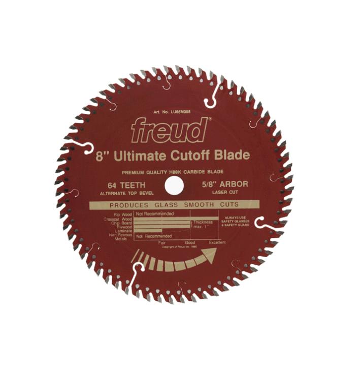 Freud 8  x 64T Ultimate Cut-Off Blade (LU85R008)