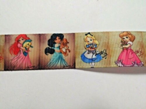 Grosgrain Ribbon Hair Bows CHILD PRINCESSES Crafts etc  22 mm
