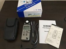 Sekonic L-358 Light Meter with Lumigrid In Great Condition