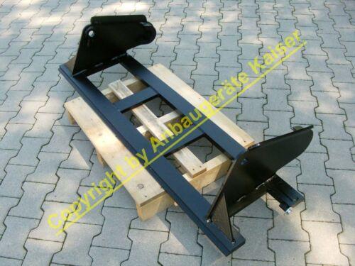 Palettengabel mit Hauer-Aufnahme für Schlepper Gabelträger bzw Frontlader Stap