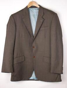 CERUTTI 1881 Herren Wolle Formelle Jacke Blazer Größe 48 ARZ403