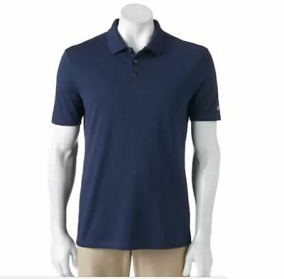 19002aed9998 FILA Sport Golf Shirt Men s Navy Blue Size XL Polo Fitted Pro Core ...
