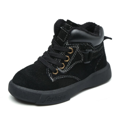 JIMI Leather Boots toddlers kids child walkers appx 1-3y black s5.1//2-8 boys