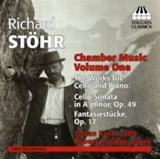 Richard Stohr: Chamber Music, Vol. 1 - The Works for Cello and Piano (CD, Jul-2