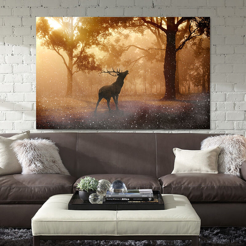 3D Forest Animal Wall Stickers Vinyl Mural Wall Print Decal Deco Art AJ STORE AU