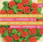 Beethoven: Symphony No. 2; Brahms: Symphony No. 2 Super Audio Hybrid CD (CD, May-2005, RCO Live)