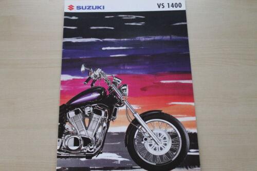 169023 SUZUKI VS 1400 INTRUDER PROSPEKT 199?