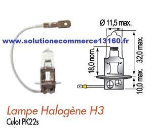 Batch Of 2 Lamp Halogen H3 48V 48 Volt 45W Beacon Headlight Trolley Lifter