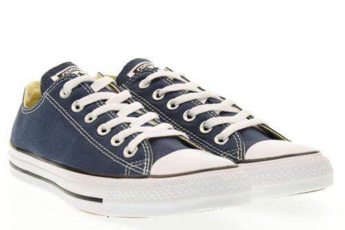 scuro m9697c Ox Converse blu Sneakers Scarpe Tela Blu Unisex All Art Star n0ApZAx