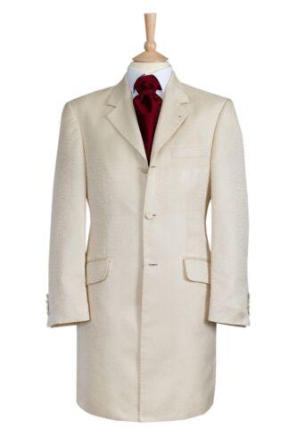Ex Hire Ivory Swirl Pattern Prince Edward Jacket