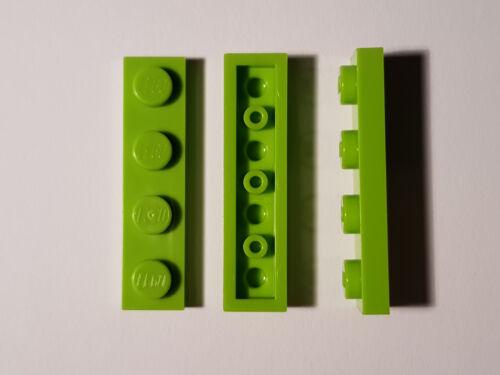 LEGO® 10 x 3710 Platte 1 x 4 limette 4187743 Architecture Lime #NK2