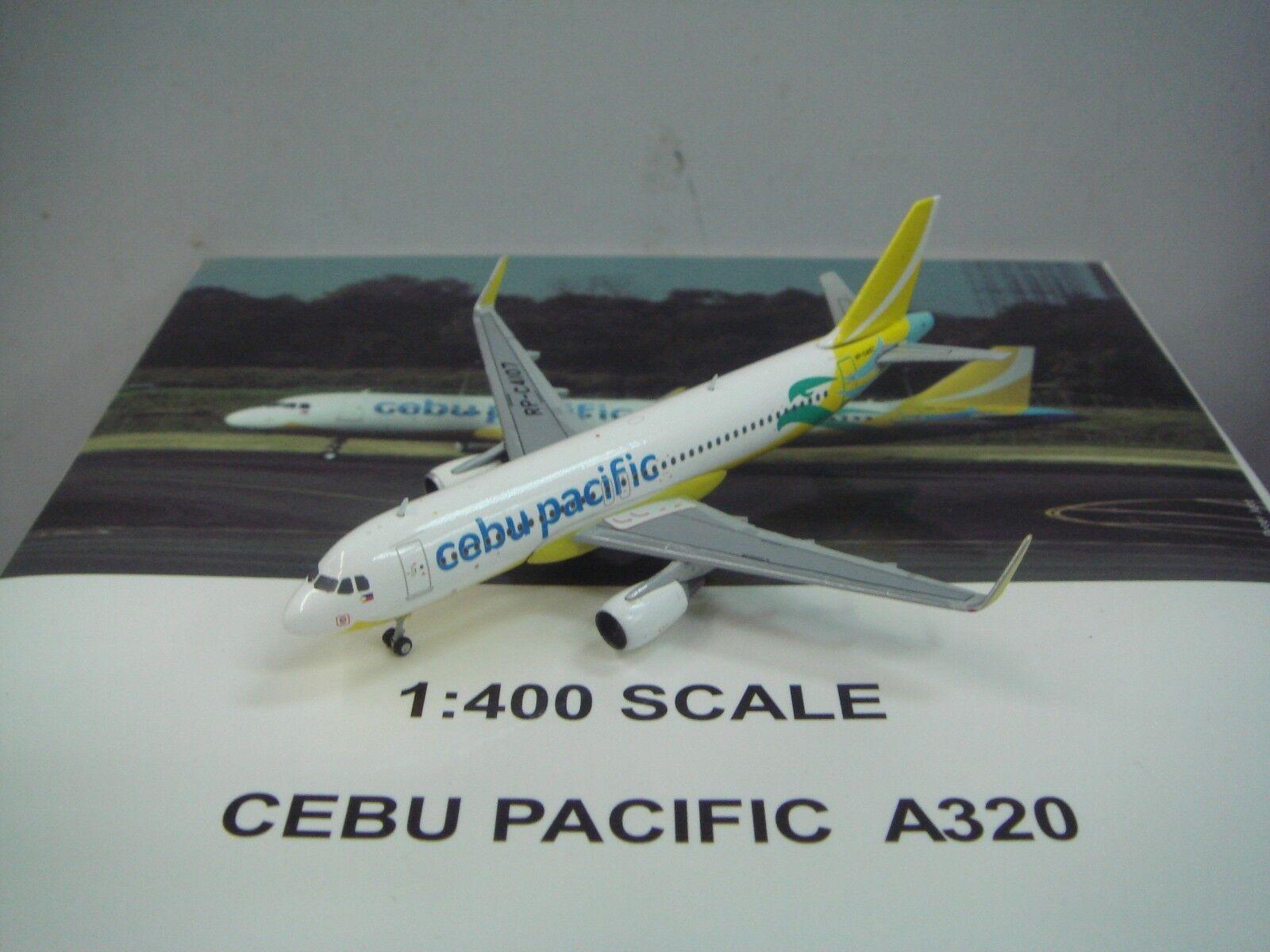 Gemini Jets 400 Cebu Pacific A320-200WL  2010s color  1:400