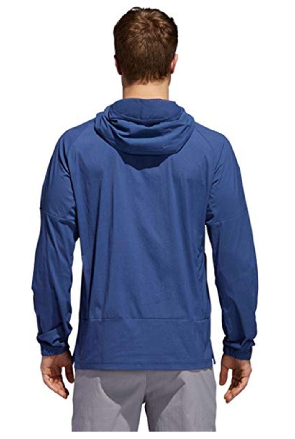 Adidas ID Sport ID Adidas Uomo Woven Hoodie - NAVY / RED - SIZE - SMALL - BRAND NEW bce18b