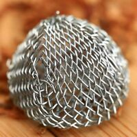 19mm Promotion Combustion Tobacco Smoking Pipe Metal Screen Ball Filter 10pcs
