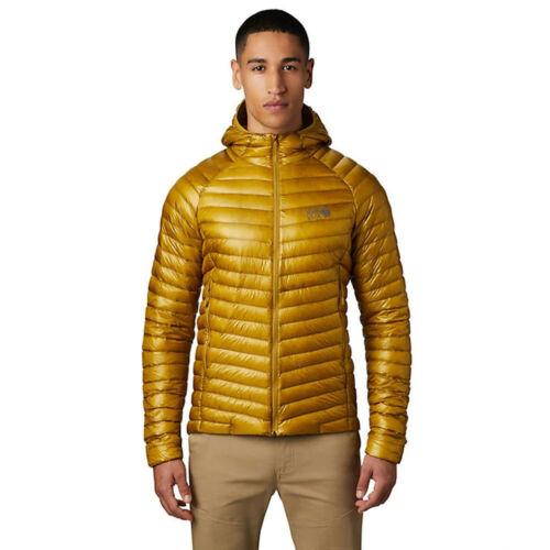 Mountain Hardwear Da Uomo Ghost Whisperer 2 Giacca Con Cappuccio Top-Giallo Sports