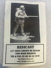 Resicast 1/35th WW2 British 1st Airborne Division Soldier Rifle Resin Figurine 2