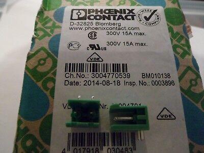 Phoenix Contact Grundleiste MSTB 2,5// 6-G-5,08 1759059 *Neu* *5 Stück*