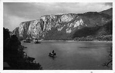 B19390 Dunarea la Cazane    real photo   romania  mehedinti