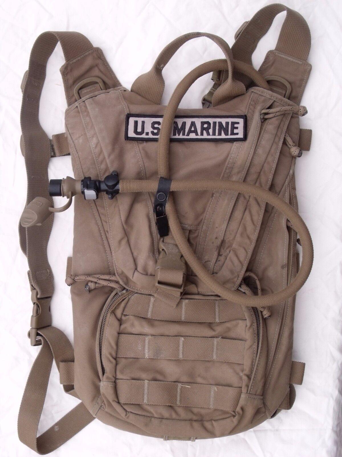 USMC FILBE Hydration System Carrier 3 L 100 oz Bladder  Coyote Marine Camelbak