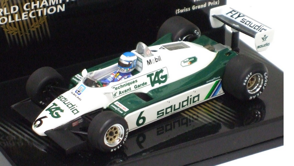 Williams Ford 1982 K.Rosberg W.Champion 1 43 436820106 Minichamps