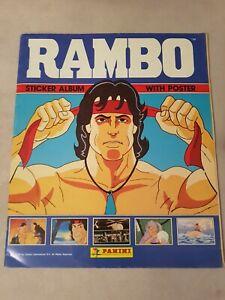 Album Panini Figurine Rambo 1985