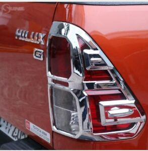 Image Is Loading Toyota Hilux Revo Tail Light Cover Trim Chrome  Images