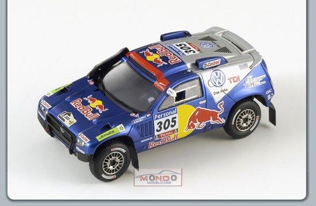 Vw Touareg  305 3Rd Dakar 2010 1 43 Spark Sp0828 Modellino